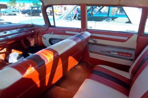 bonneville station wagon rear seat interior