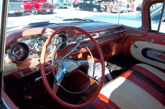 bonneville station wagon interior front