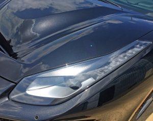 2020 Ferrari Pista hood
