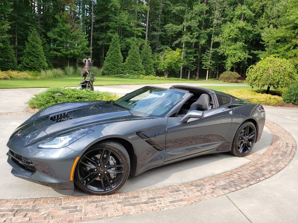 2019 Corvette convertible