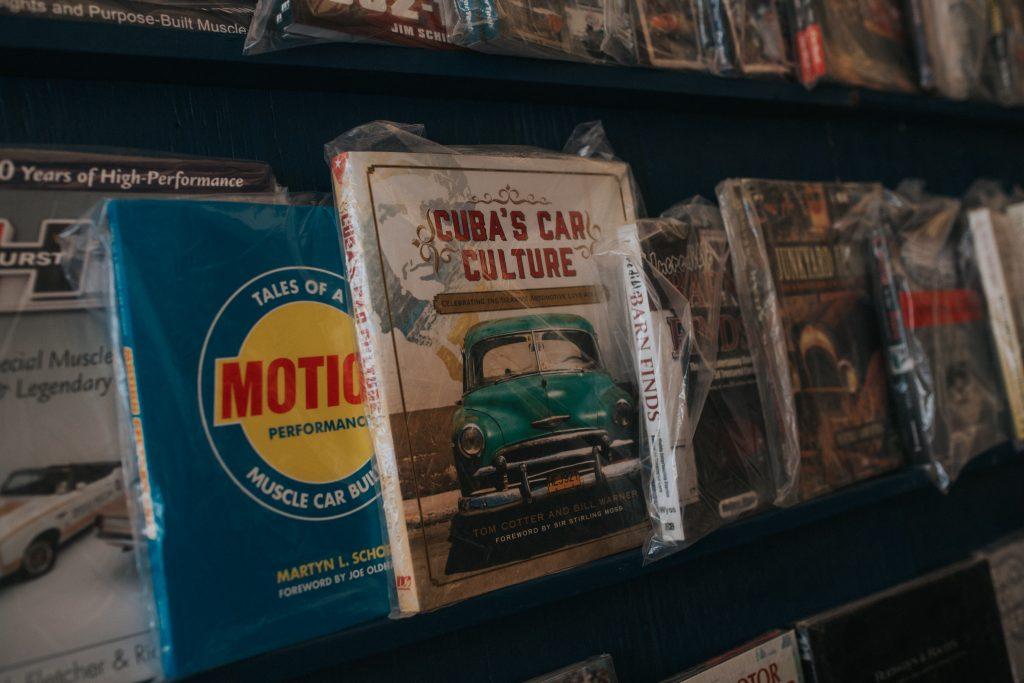 vintage car books Hershey 2017