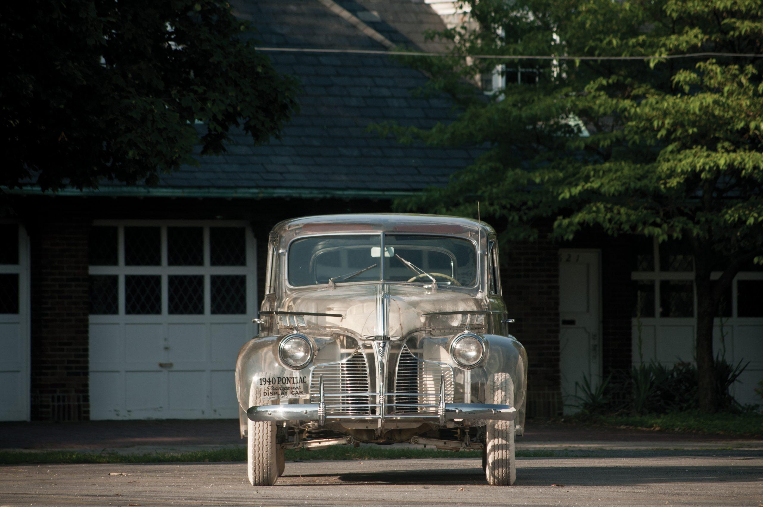 "1939 Pontiac Plexiglas Deluxe Six ""Ghost Car"" front"