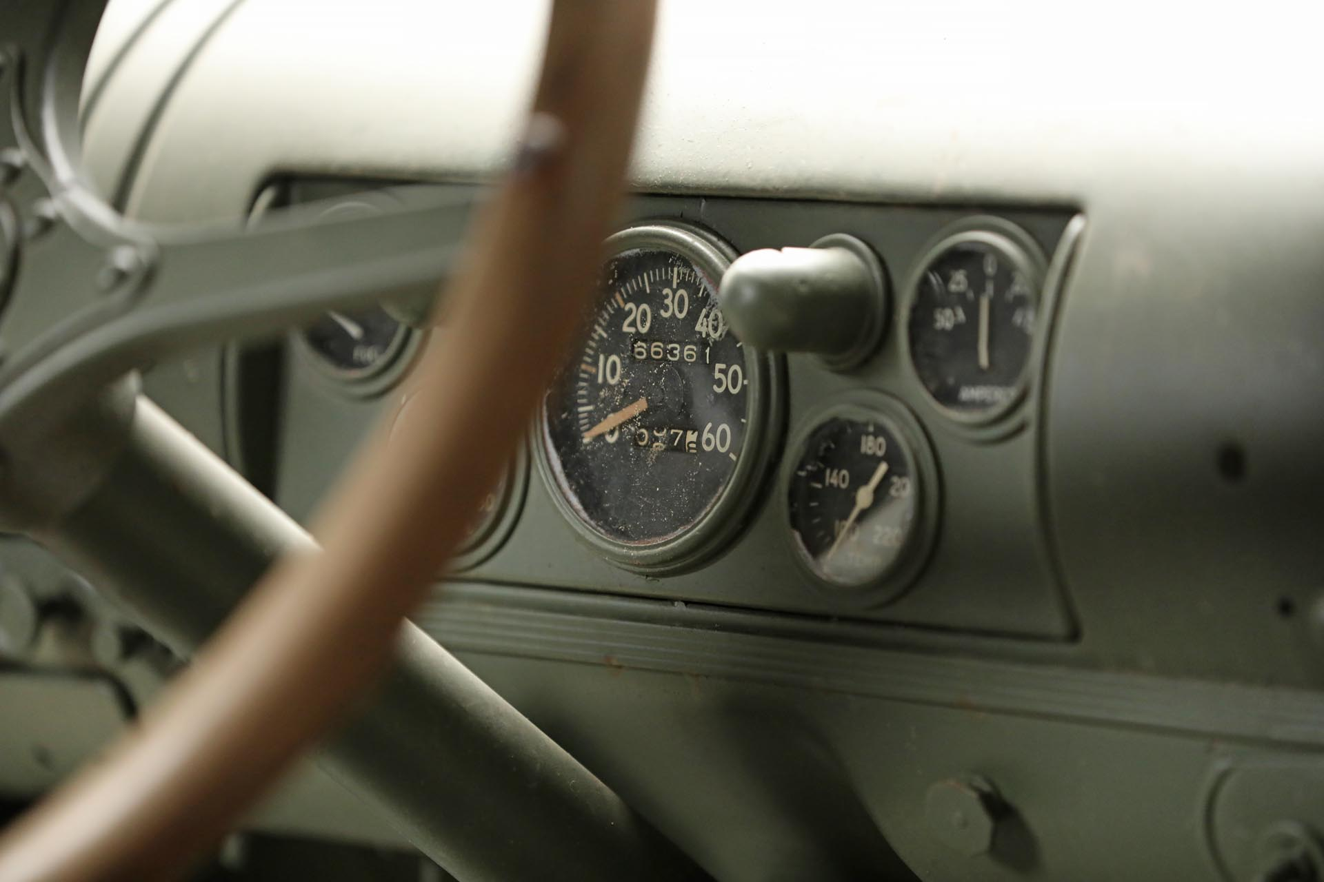1941 Chevrolet 1543 GS Speedometer