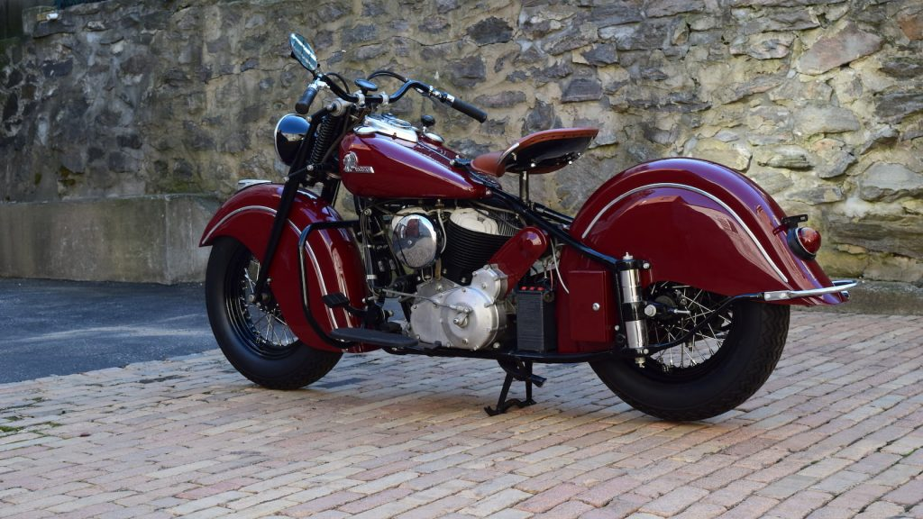1946 Indian Chief Rear Three-Quarter