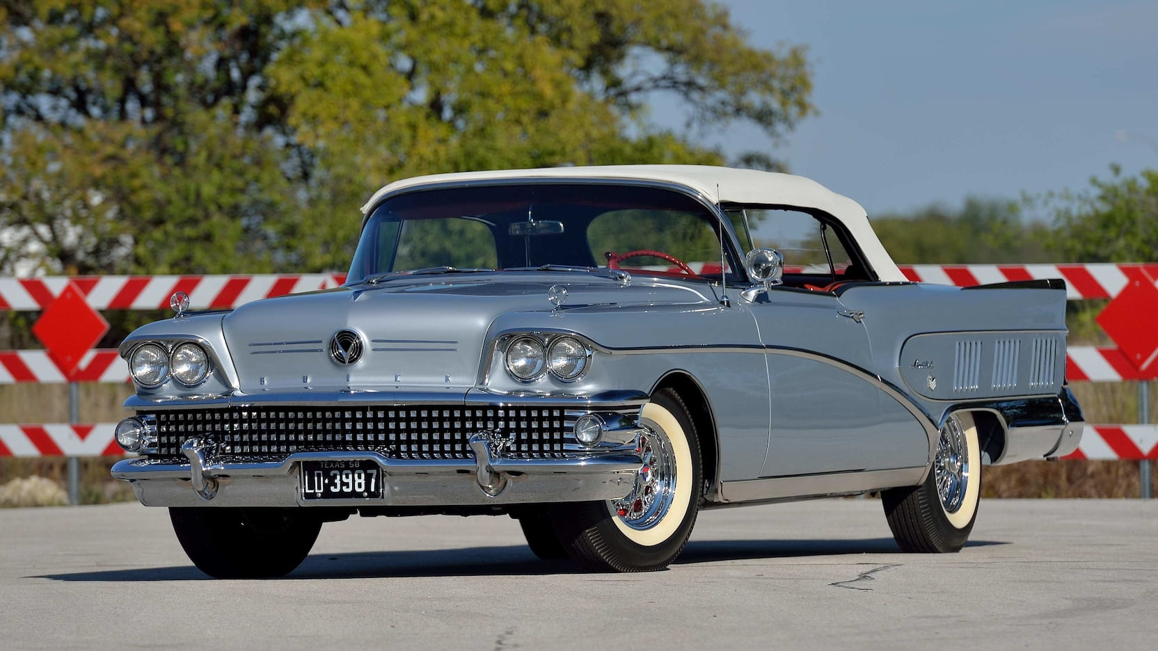 1958 Buick Limited Convertible Front Three-Quarter