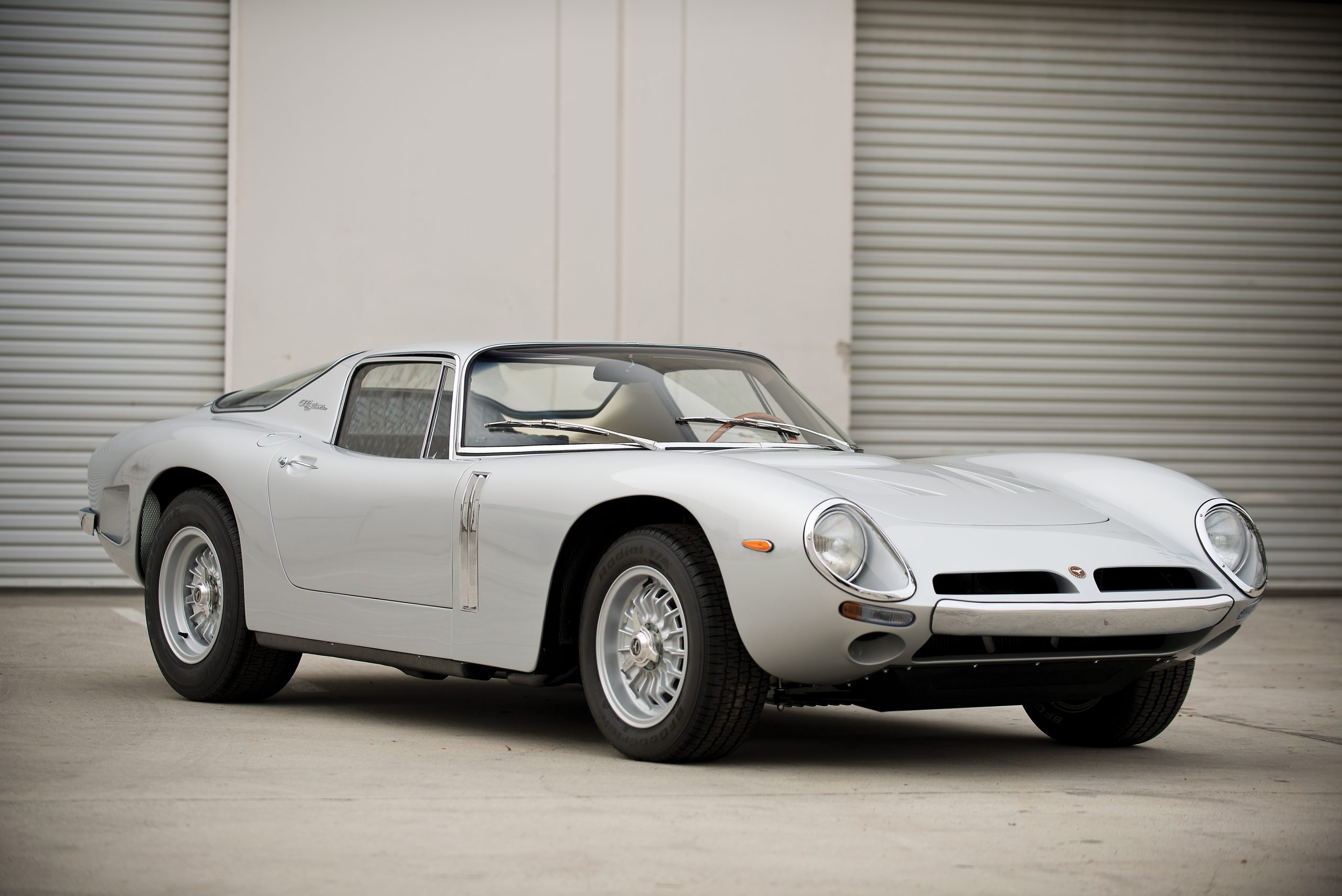 1965 Bizzarrini 5300 GT Strada Alloy front three quarter