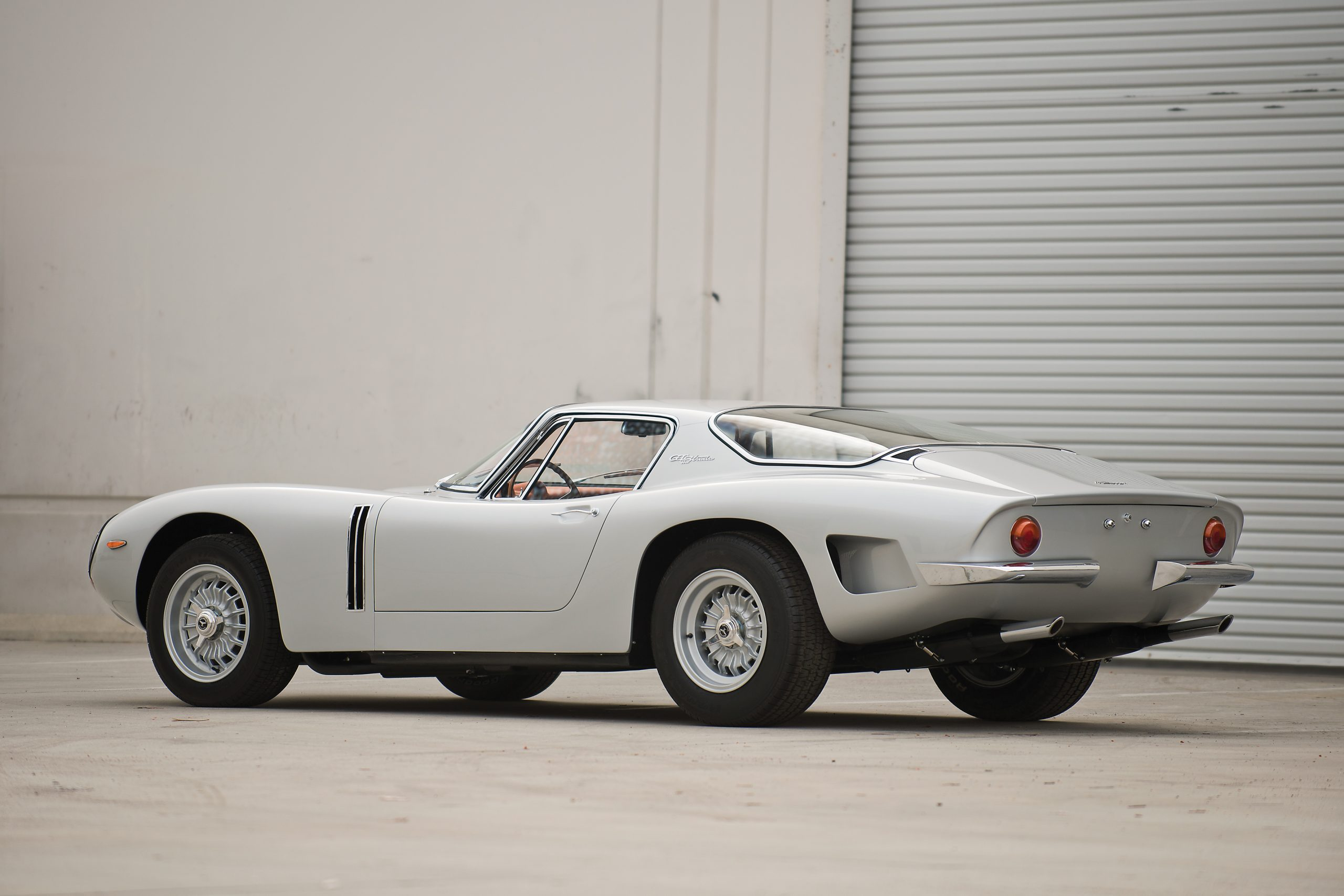 1965 Bizzarrini 5300 GT Strada Alloy rear three quarter