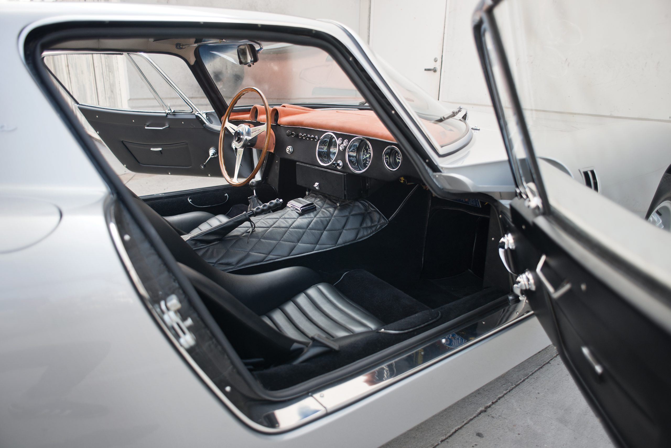 1965 Bizzarrini 5300 GT Strada Alloy interior