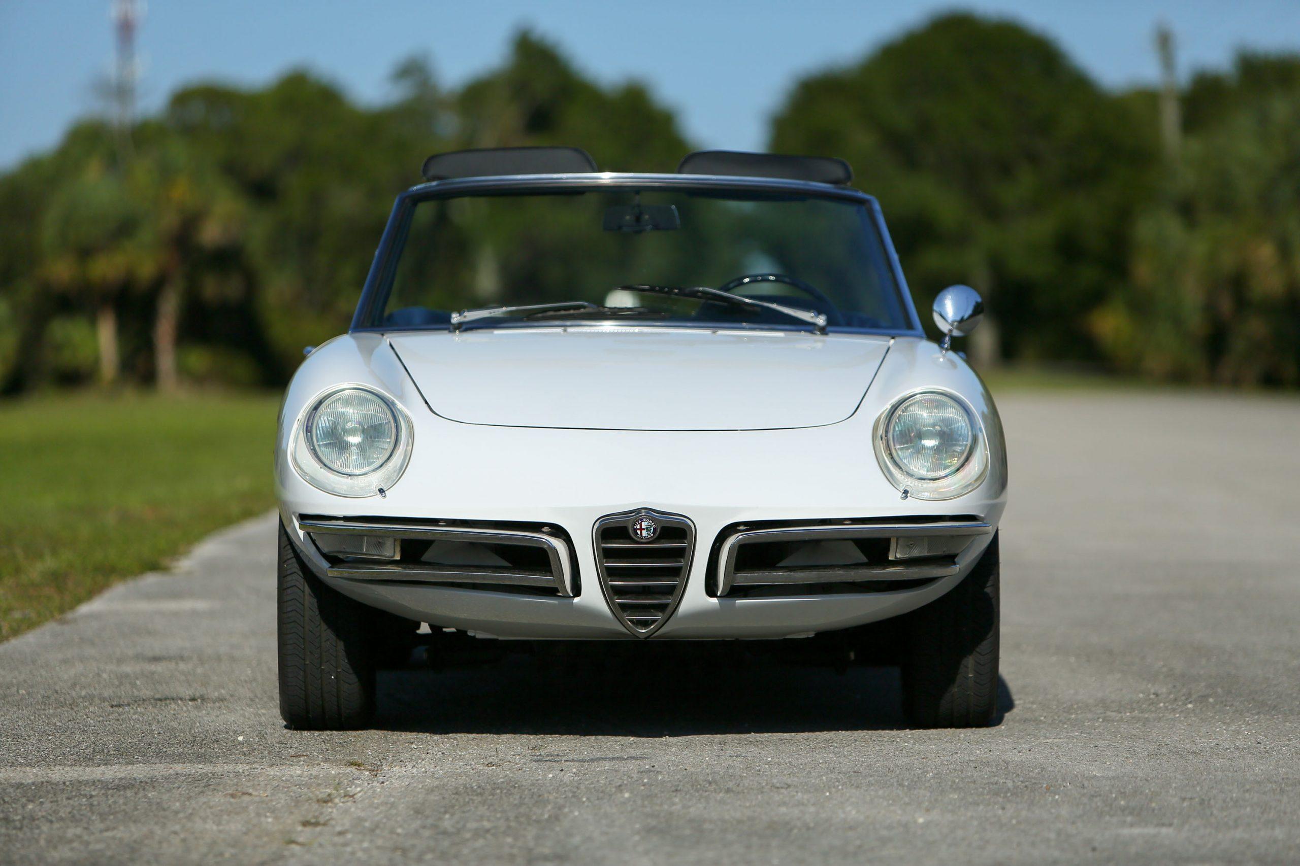 967 Alfa Romeo 1600 'Duetto' Spider front