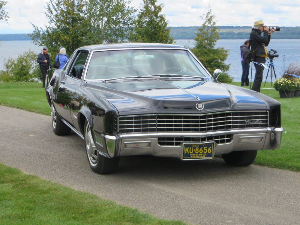 1967 Cadillac Eldorado Front Three-Quarter