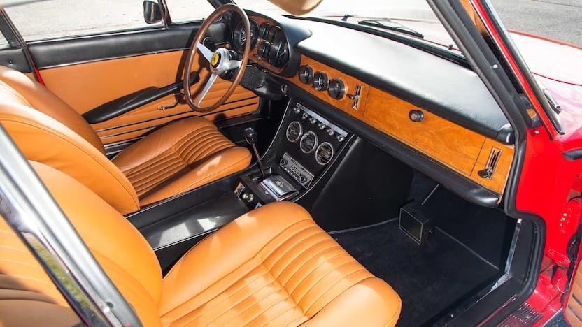 1967 ferrari 330 gtc interior