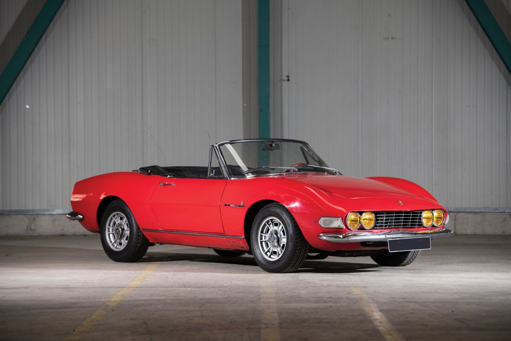 1968 Fiat Dino Spider by Pininfarina Front Three-Quarter