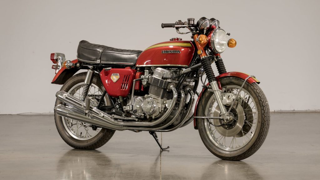 1969 Honda CB750 Sandcast Front Three-Quarter