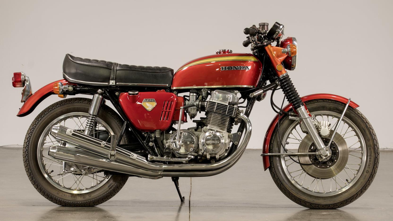 1969 Honda CB750 Sandcast Side Profile