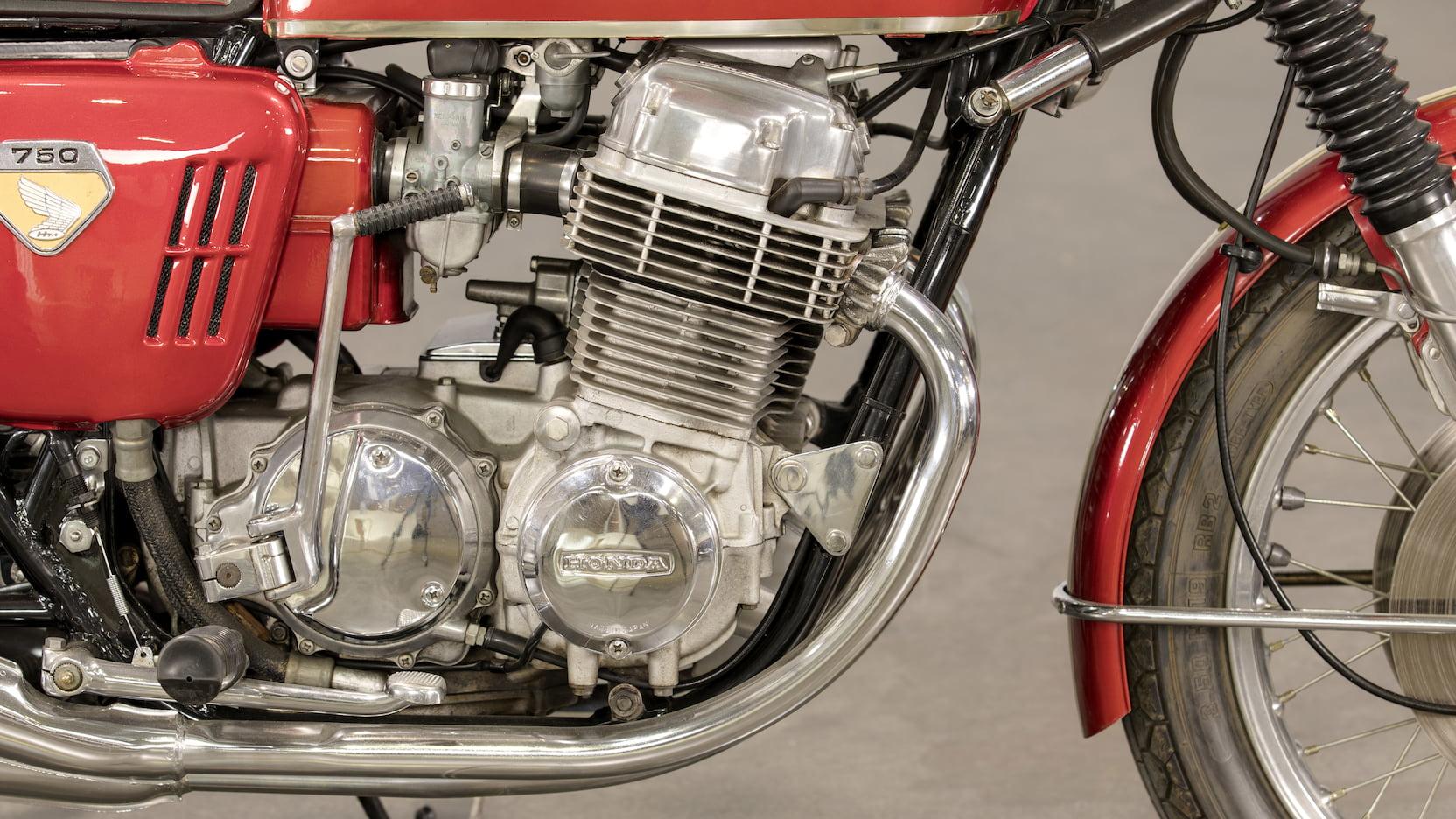 1969 Honda CB750 Sandcast Engine