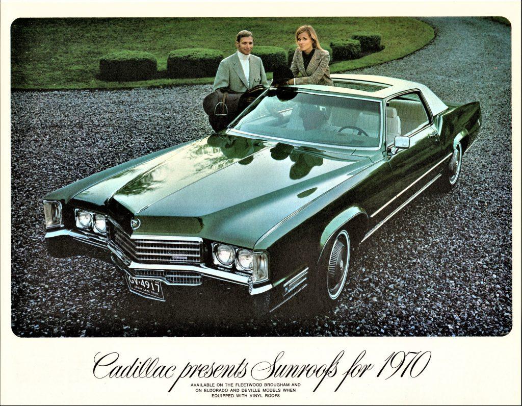 1970 Cadillac Eldorado with Sunroof Ad