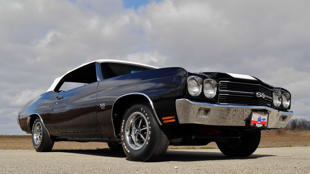 1970 Chevrolet Chevelle LS6 Convertible Front Three-Quarter