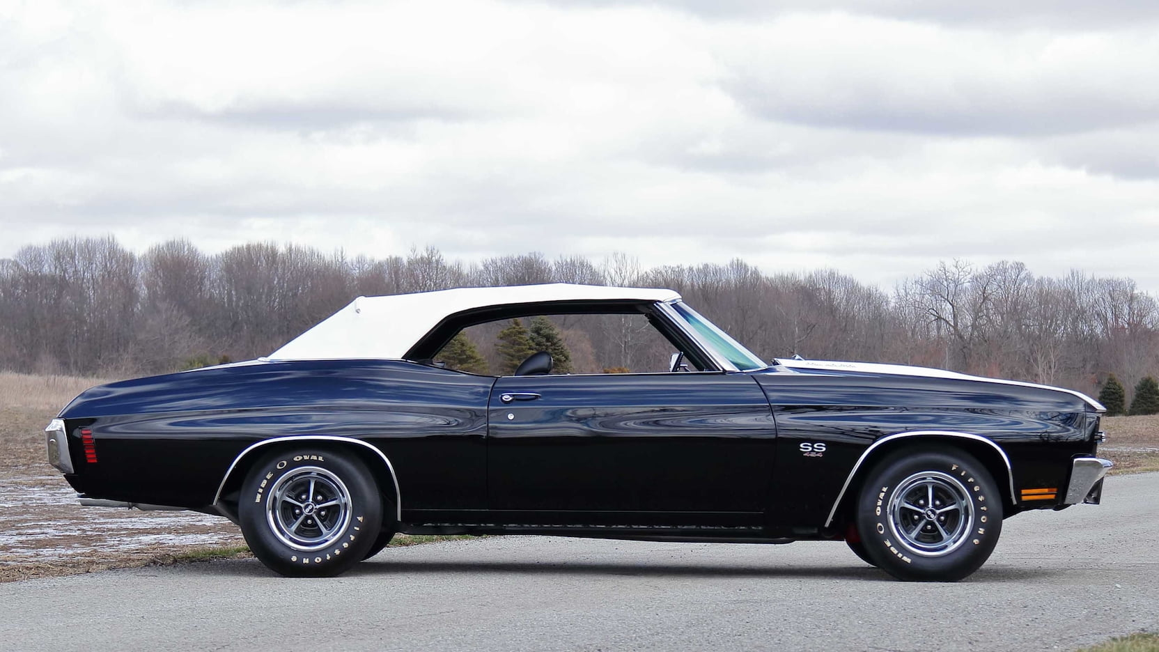 1970 Chevrolet Chevelle LS6 Convertible Side Profile