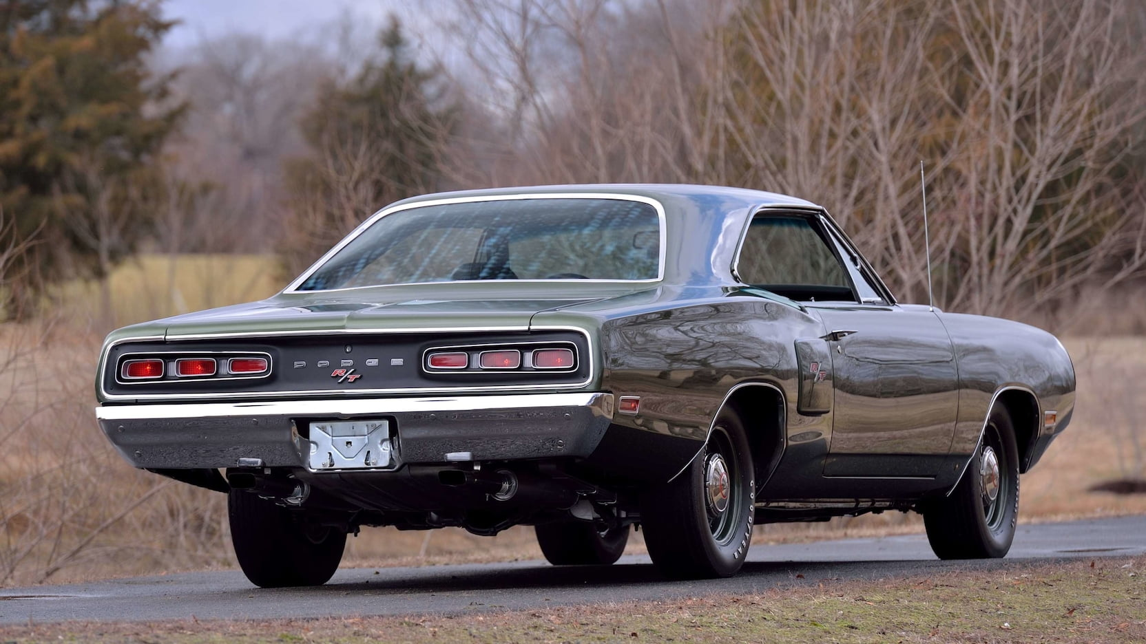 1970 Dodge Hemi Coronet RT Rear Three-Quarter