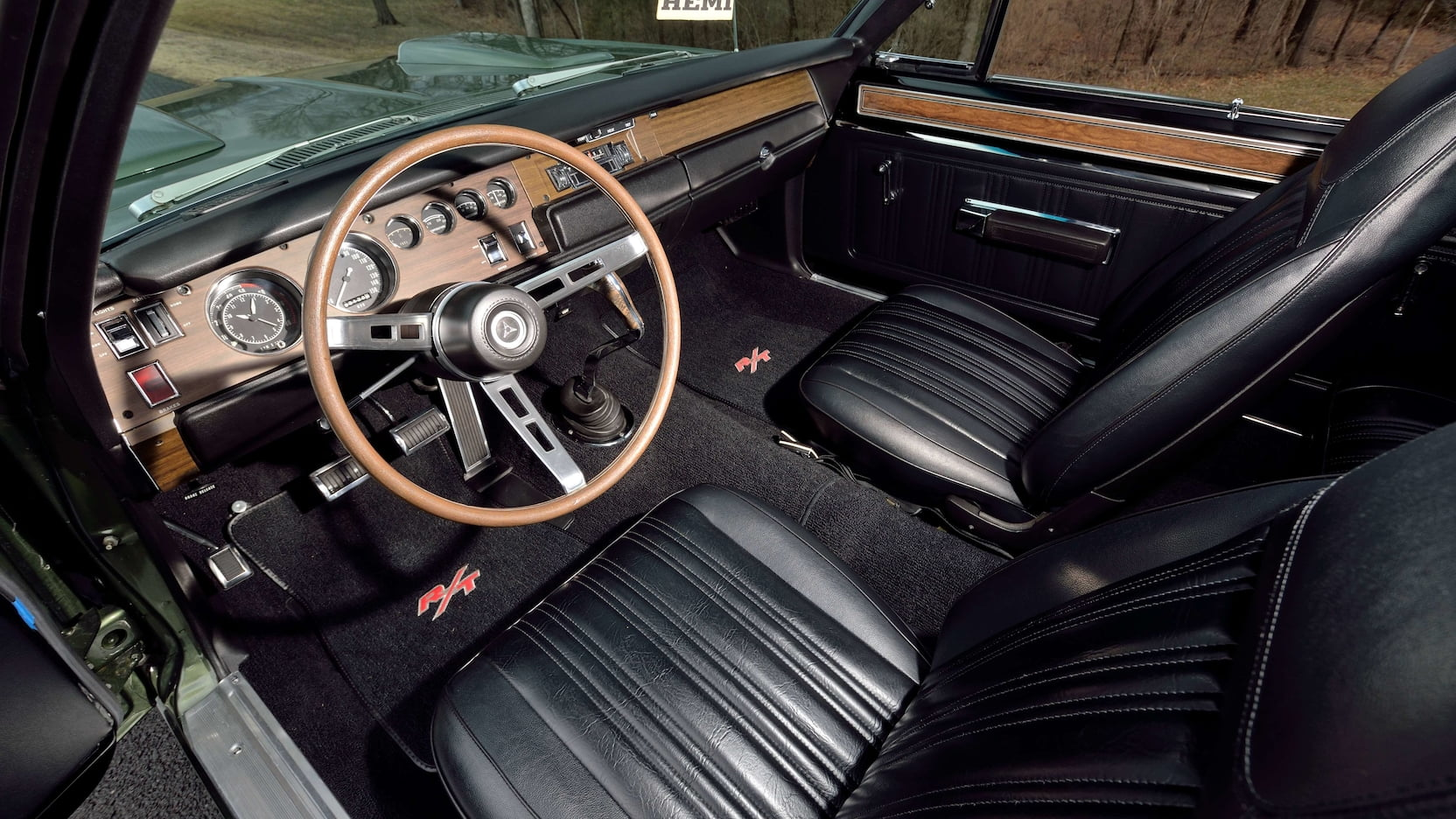 1970 Dodge Hemi Coronet RT Interior