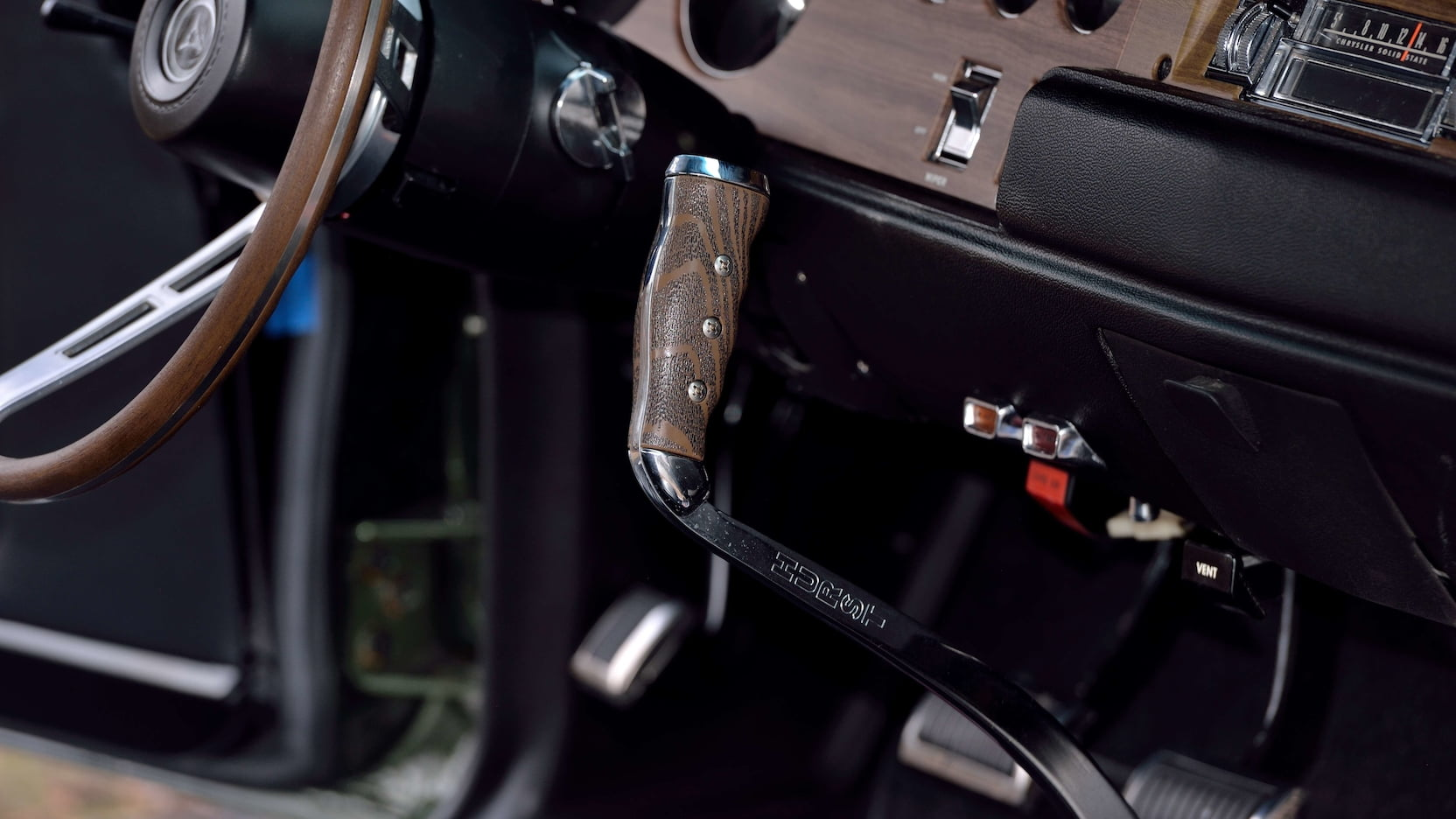1970 Dodge Hemi Coronet RT Interior Shifter