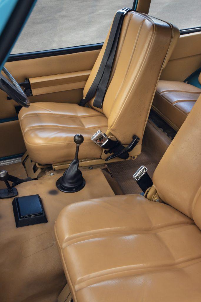 1970 Range Rover Interior Seats