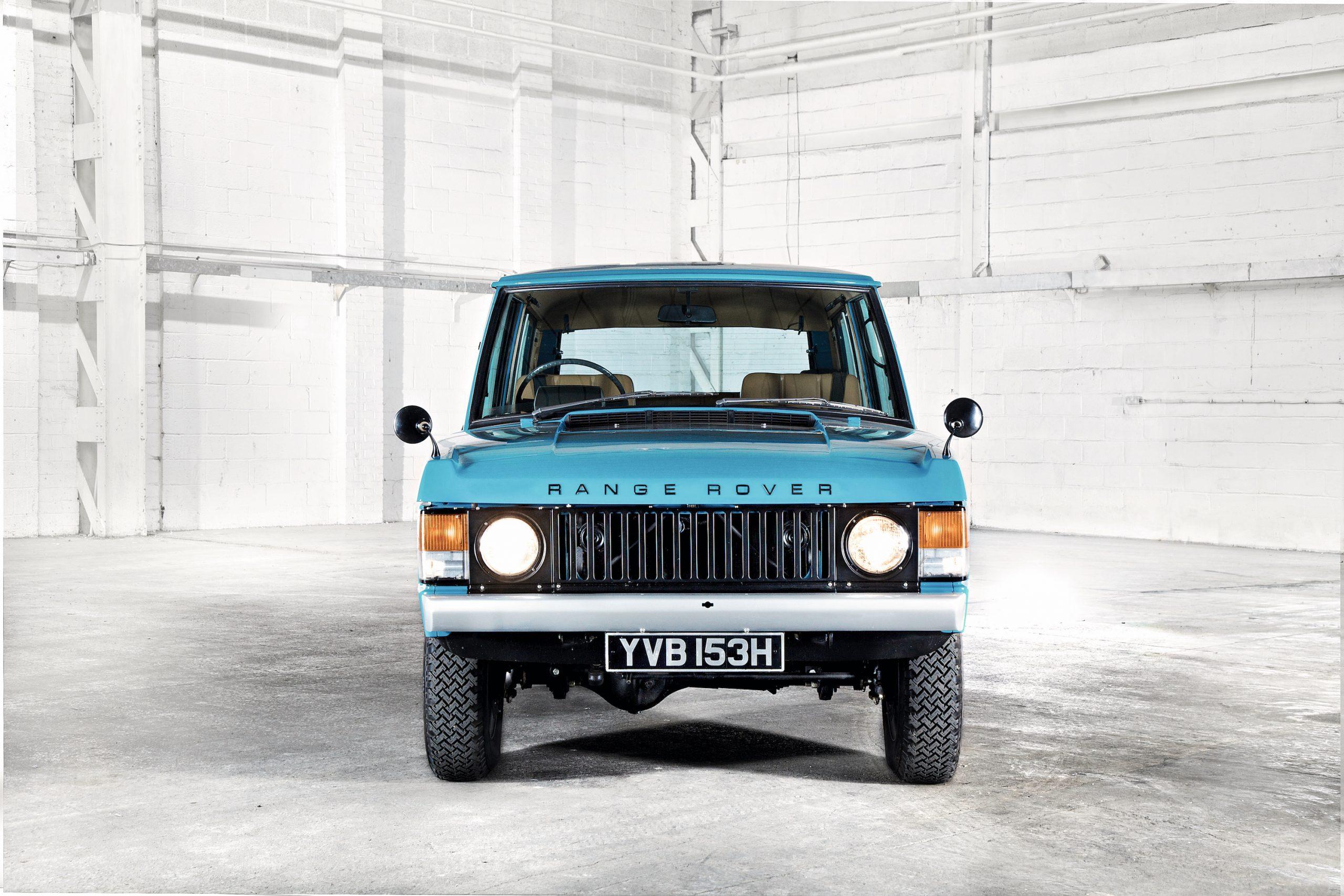 1970 Range Rover Front
