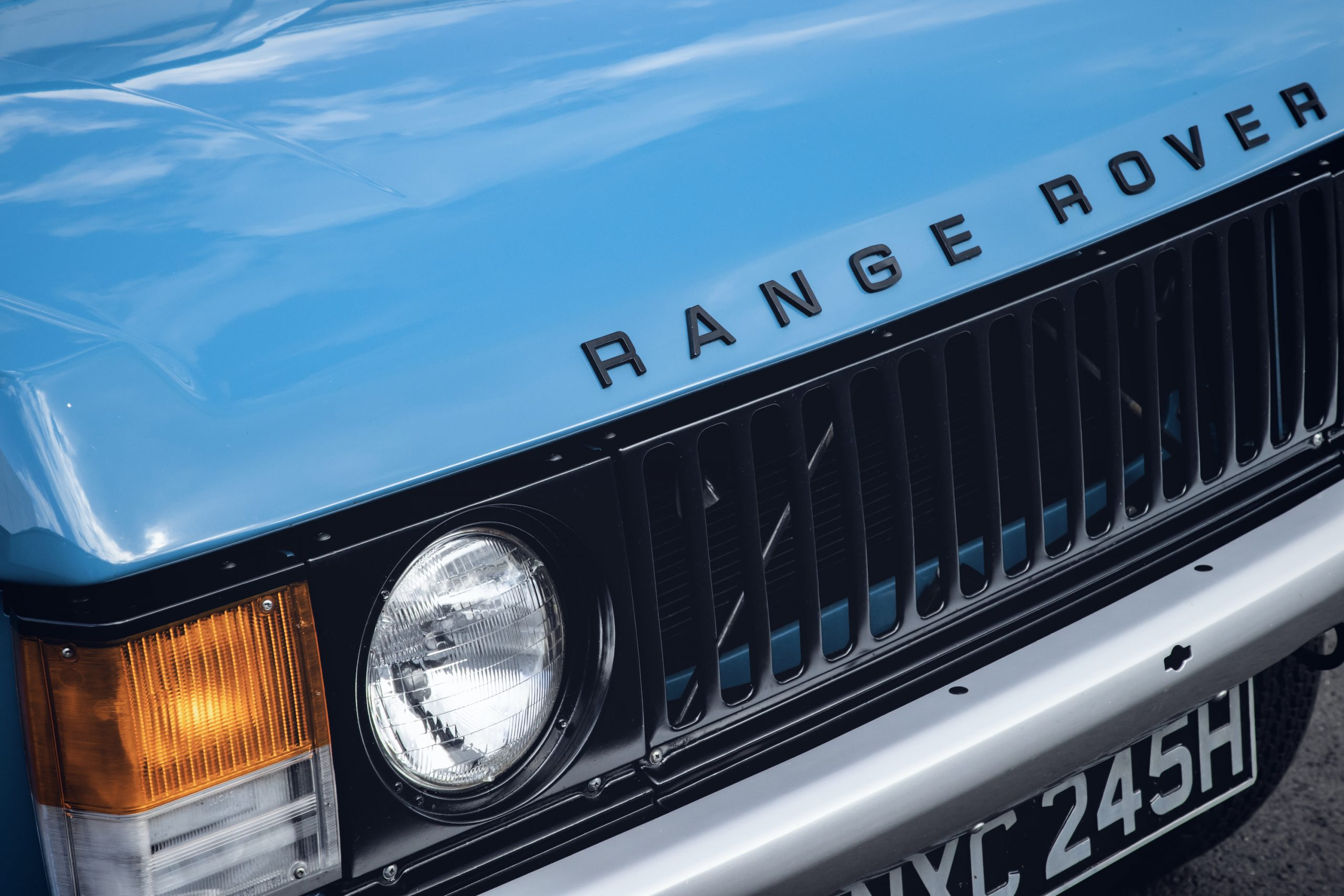 1970 Range Rover Front Grille