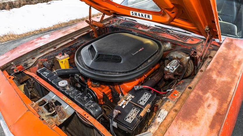 1971 Cuda Convertible Mecum 440 6-BBL