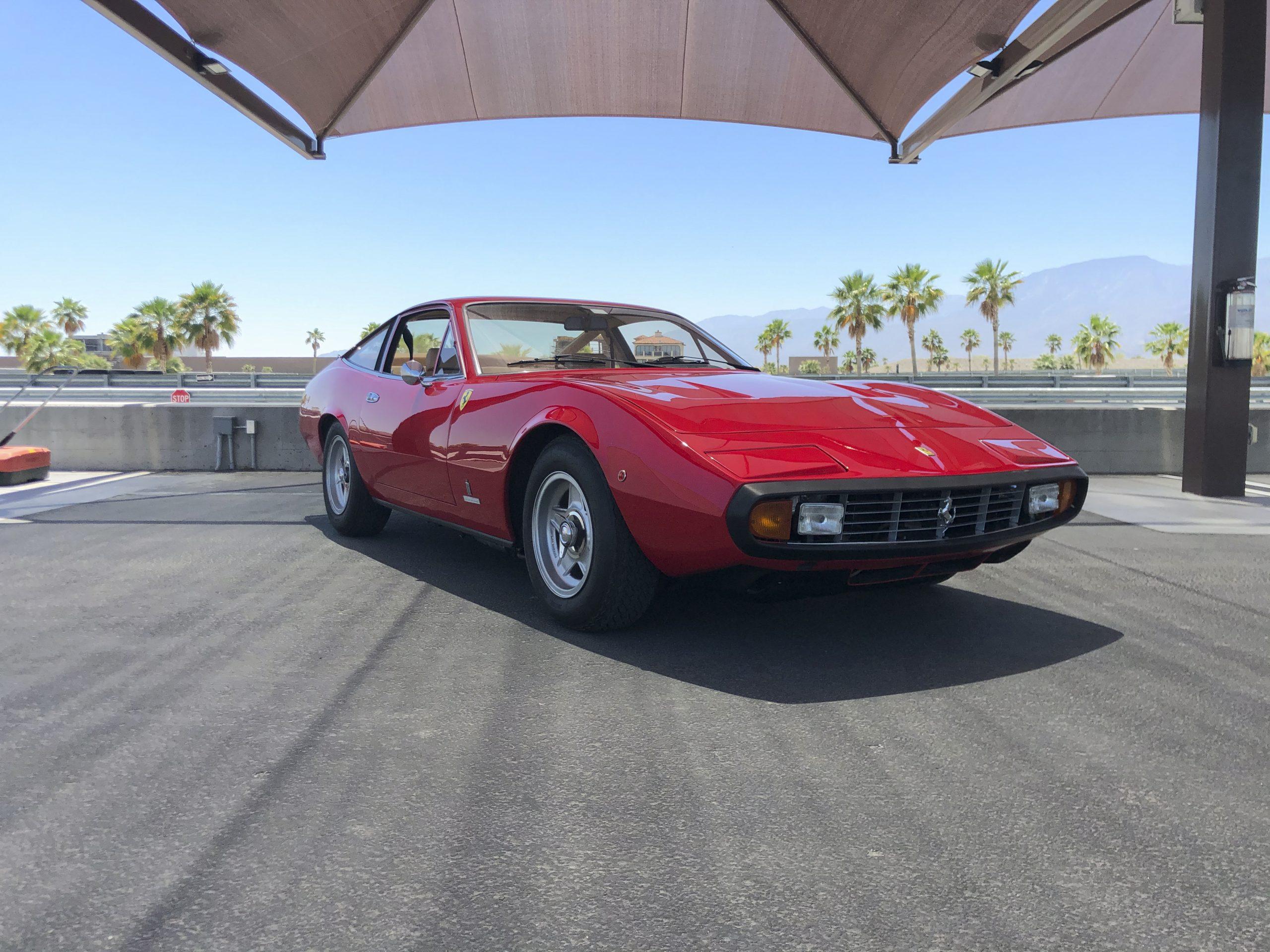 1971 Ferrari 365 GTC/4 by Pininfarina front
