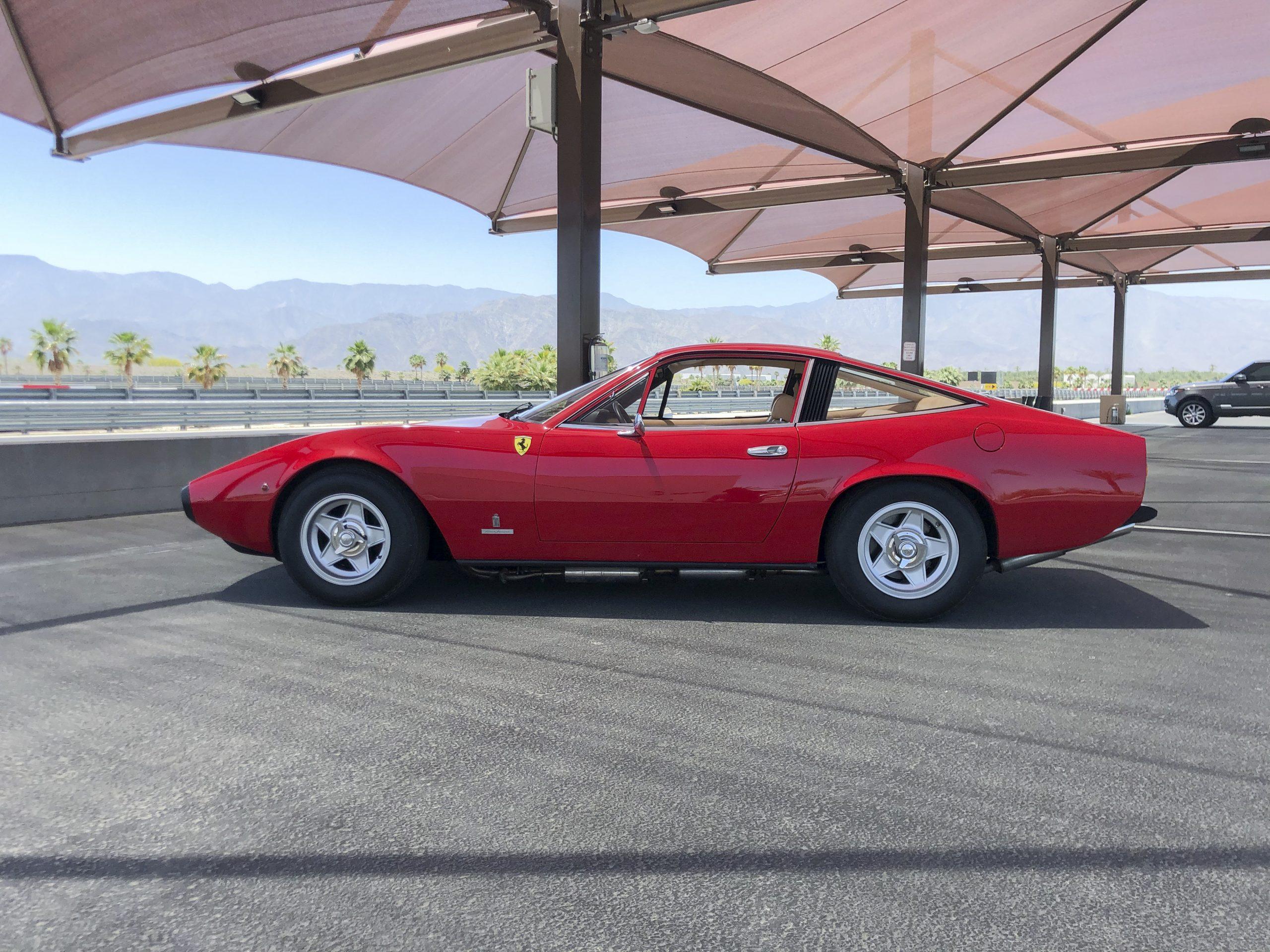 1971 Ferrari 365 GTC/4 by Pininfarina profile