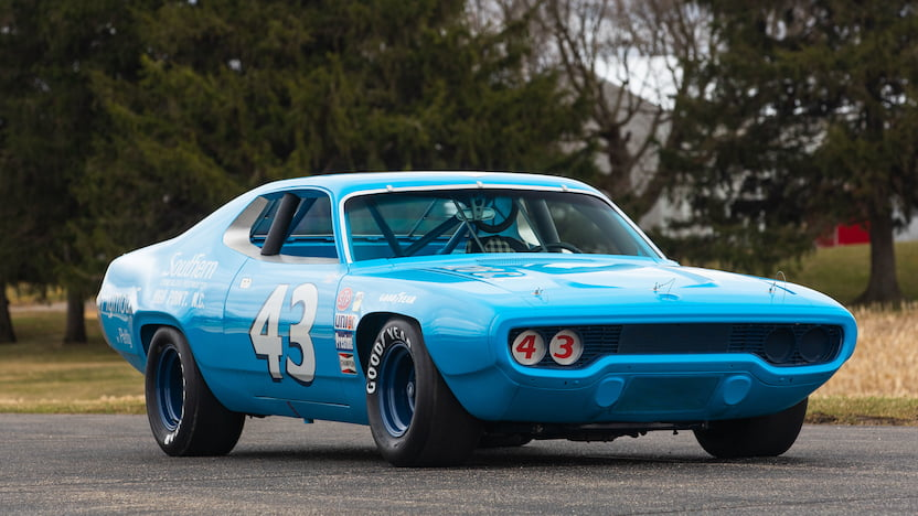 1971 Plymouth Road Runner Richard Petty Mecum
