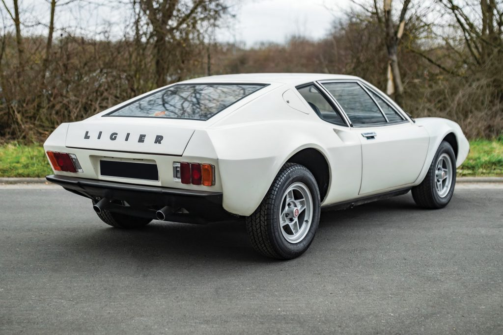 1972 Ligier JS2 Coupe Rear Three-Quarter
