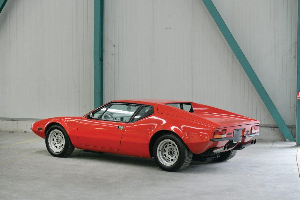 1973 De Tomaso Pantera Rear Three-Quarter