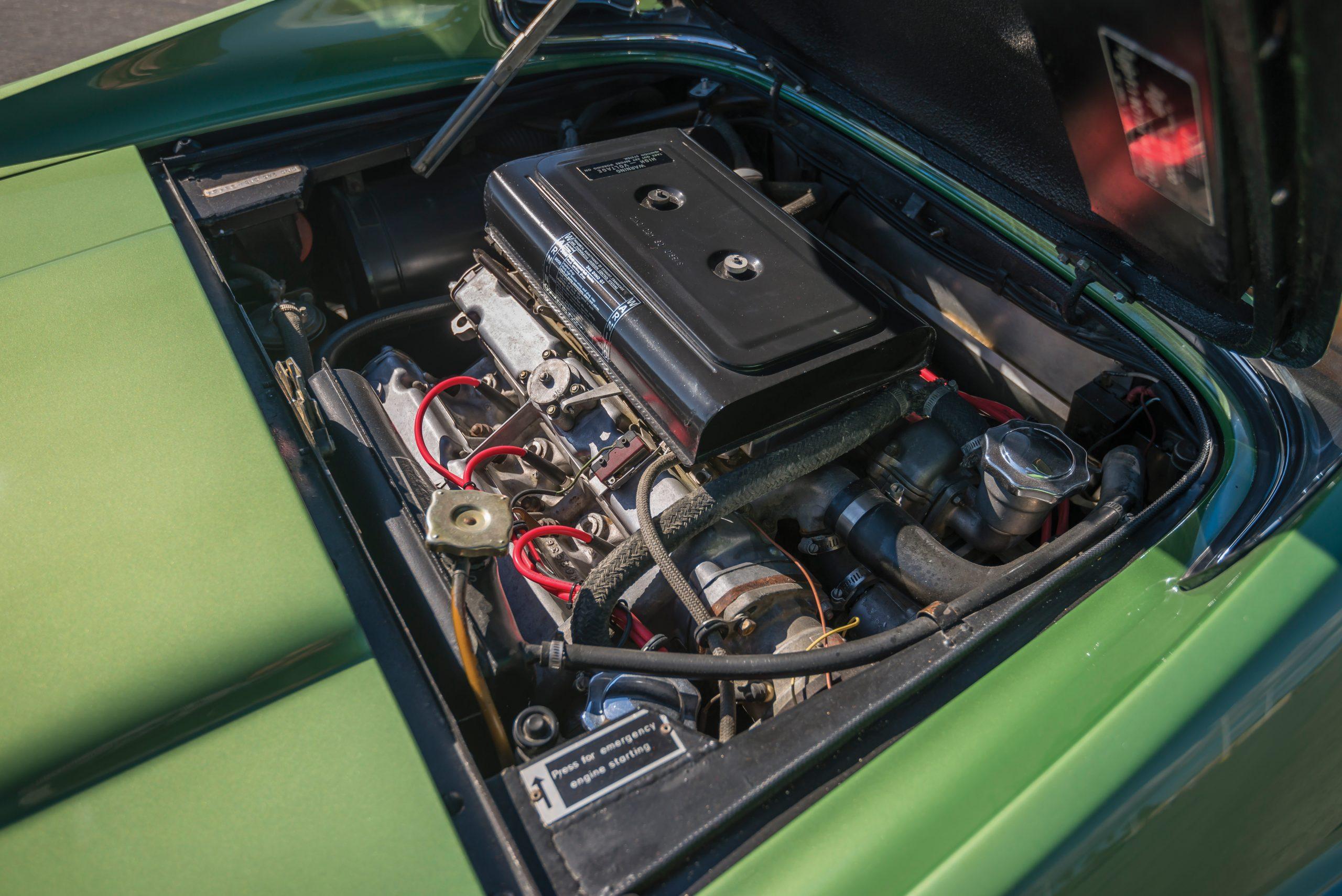 1974 Ferrari Dino 246 GTS by Scaglietti engine