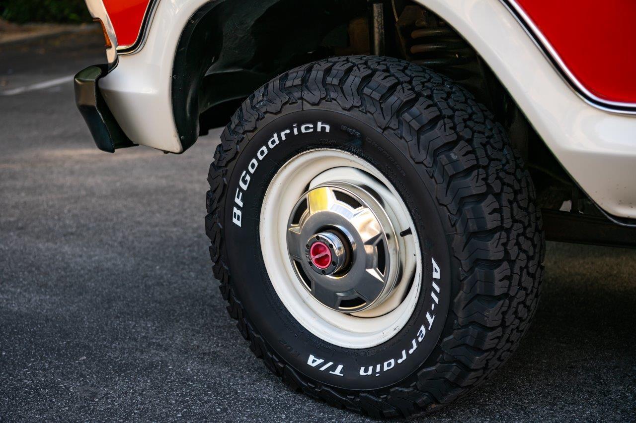 1979 Ford Bronco Custom Wheels BFG KO2 All Terrain Tire