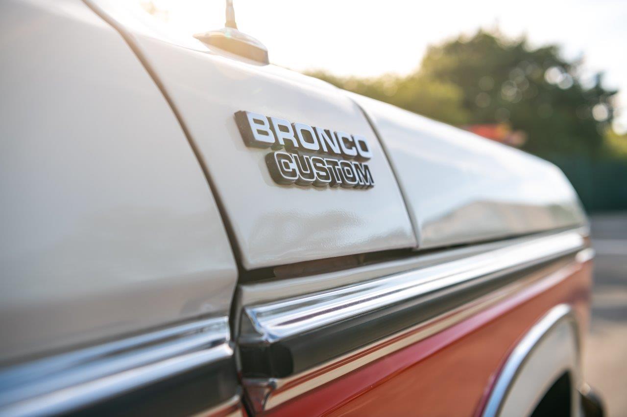 1979 Ford Bronco Custom Badge