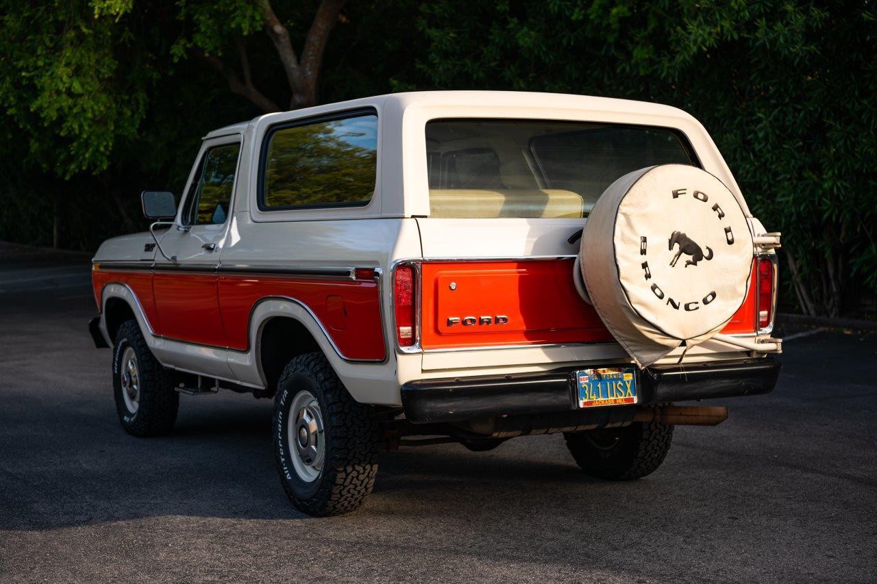 1979 Ford Bronco Custom Rear Three-Quarter