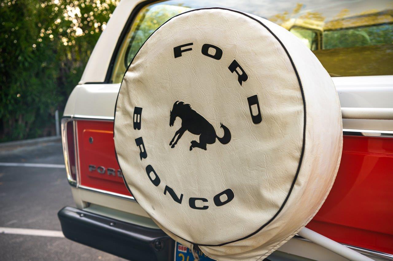 1979 Ford Bronco Custom Tire Cover