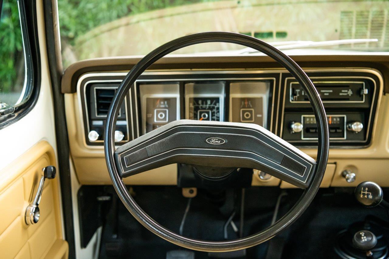 1979 Ford Bronco Custom Steering Wheel