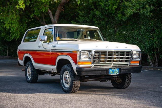 1979 Ford Bronco sells for $67,725, setting auction record ...