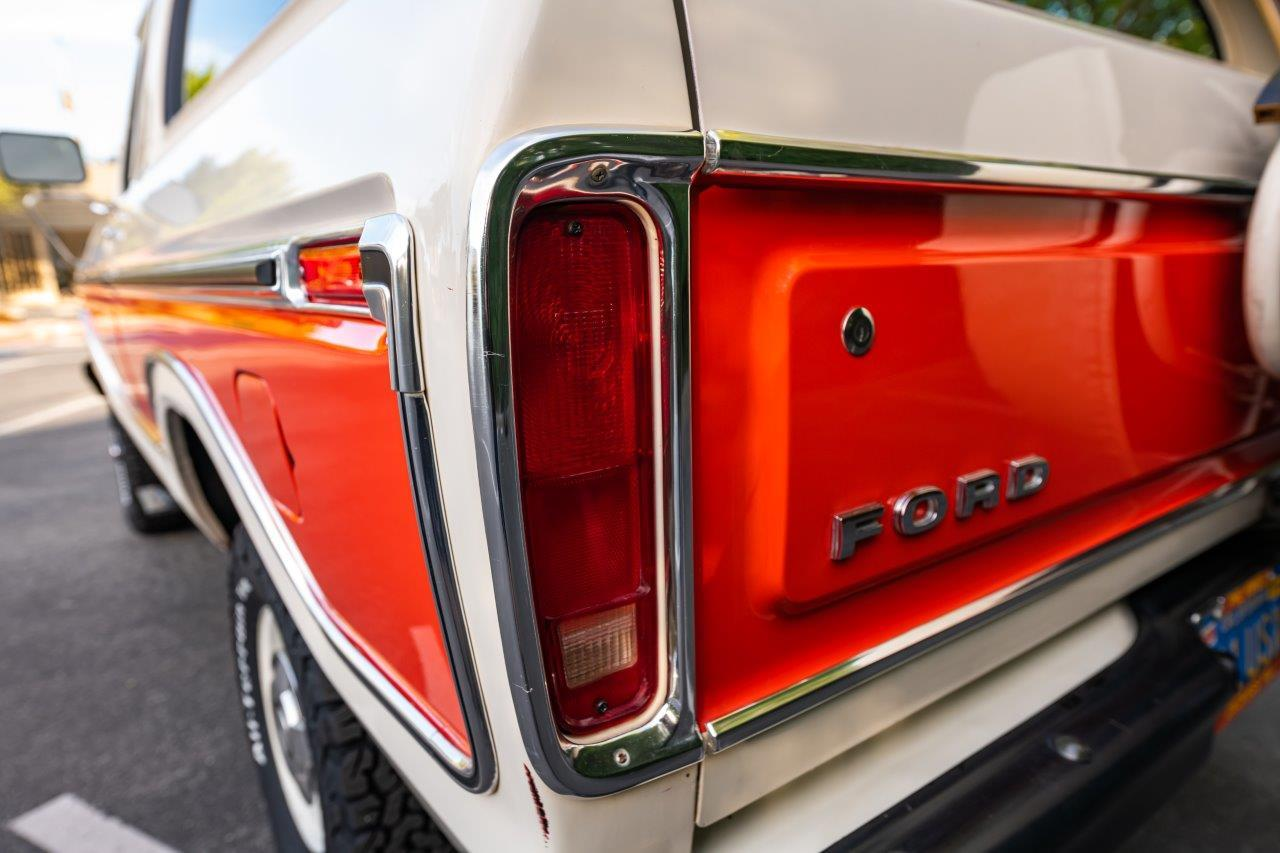 1979 Ford Bronco Custom Rear Taillight