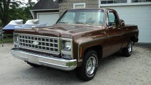 1980 Chevrolet Scottsdale Truck Front Three-Quarter