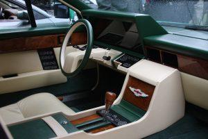 1982 Aston Martin Lagonda Interior Steering Wheel