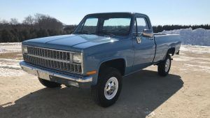 1982 Chevrolet 2500 Truck Front Three-Quarter