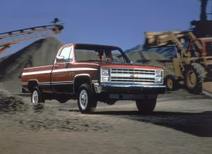 1987 Chevrolet K20 Scottsdale Front Three-Quarter