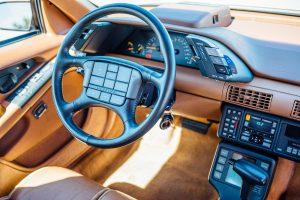 1989 Pontiac Turbo Grand Prix by ASC/McLaren steering wheel