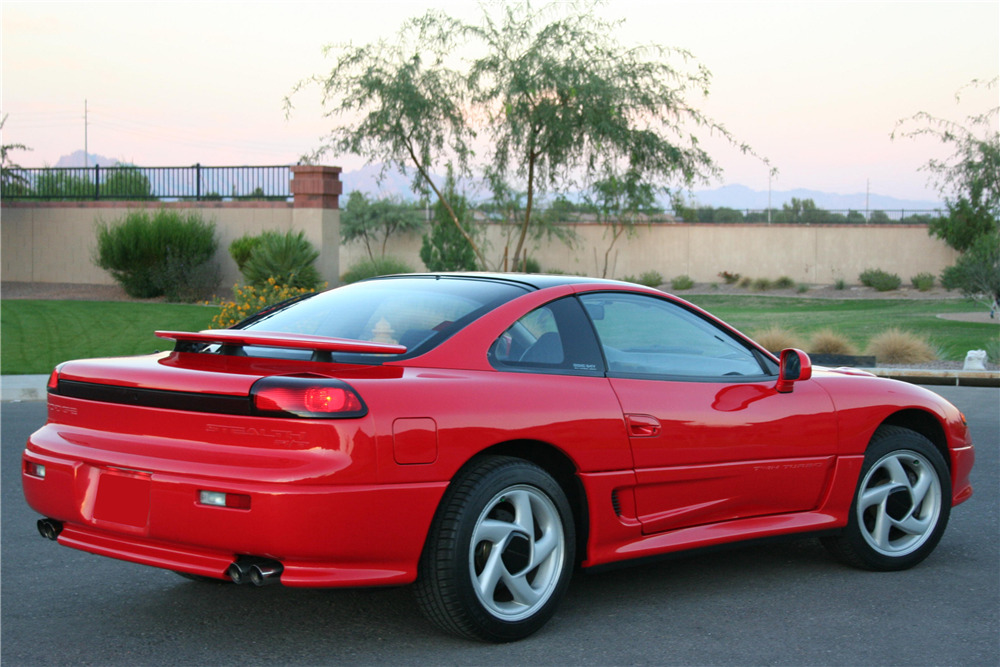 1991 Dodge Stealth R/T Turbo rear
