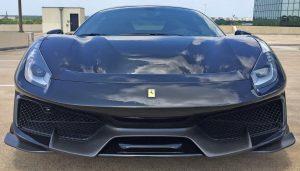 2020 Ferrari Pista Front