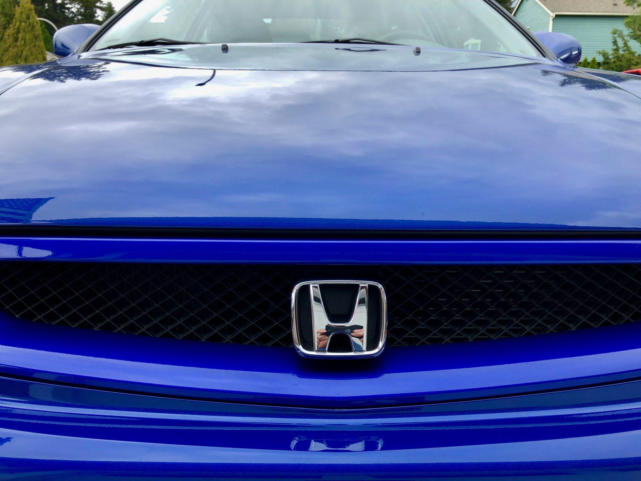 2000 Honda Civic Si Hood Front Emblem